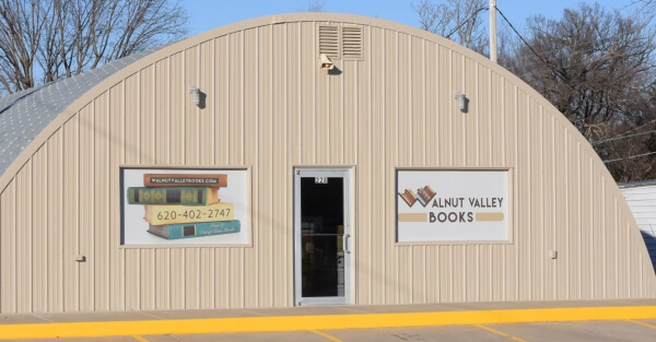 Walnut Valley Books Storefront